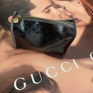 Gucci parfum cosmetic bag